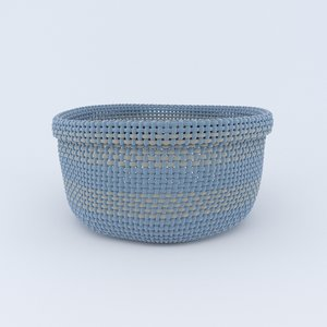 knitted basket model