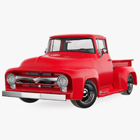 1956 Ford F100 Pickup Truck Tuned Rigged