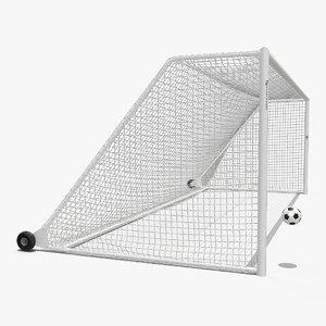 soccer ball flies goal model