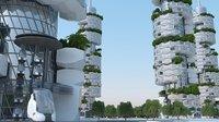Simple Future City Concept