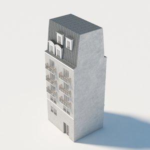 3D european building eu model