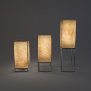 3D lamp cube