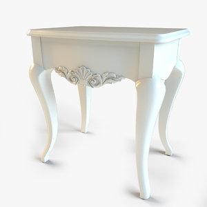 3d drawer table giorgiocasa model