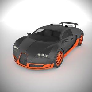polycar n83 lp1 cars 3D model