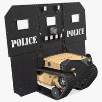 RBS1 SWAT BOT Robotic Ballistic Shield