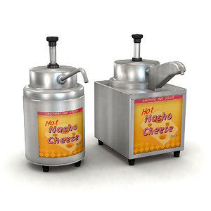 3D model condiment warmers