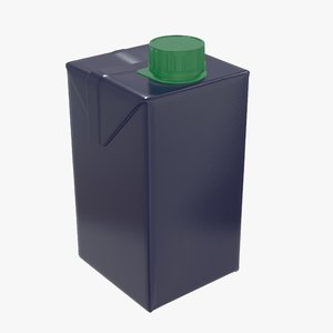 3D juice packaging cap