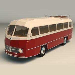 vintage bus model