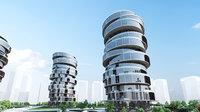 Simple Future City Concept 02