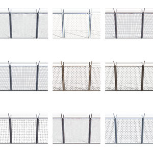 3D 10 fence pack