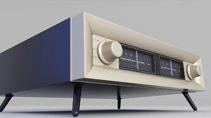 radio retro vintage model