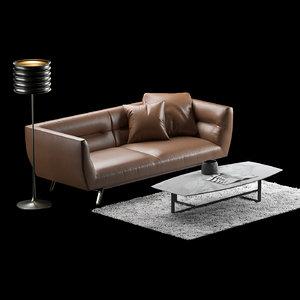 3D sofa natuzzi model