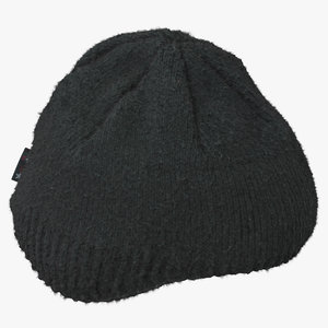 3D male winter hat 02