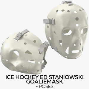 3D ice hockey ed staniowski model