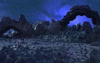 Moon environment