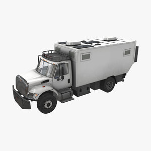 motorhome tc52hv unicat auto car 3D model