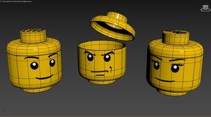 3D storage box lego -