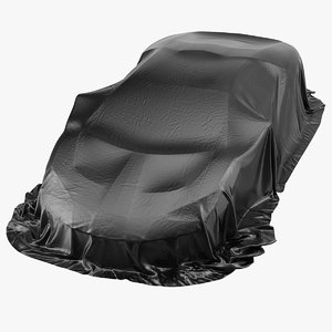 cover supercar protection car 3D model