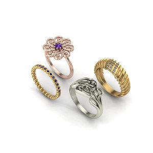 3D rings 1