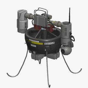 3D rq16 drone model