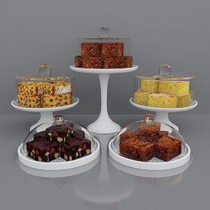 3D cake brownie