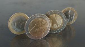 3D euro money model