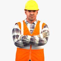 Worker Standard V2 Rigged