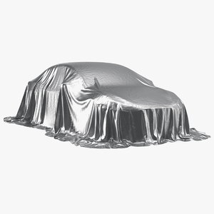 nylon car cover protection 3D