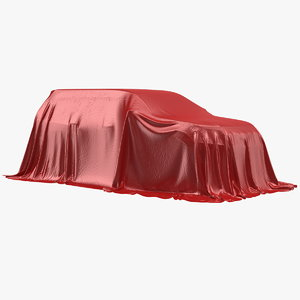 3D suv cover protection materials model