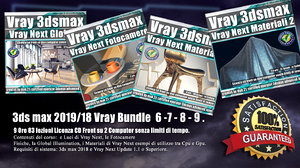 3ds max Vray Next Bundle 6 - 7 - 8 - 9