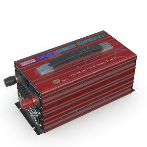 3D model power inverter pbr