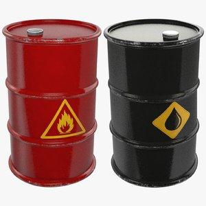 3D barrels oil v2