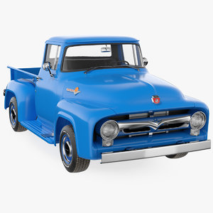 1956 f100 pickup truck model