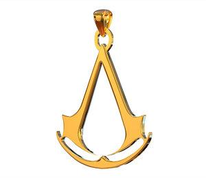 assassin s creed logo 3D
