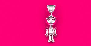 robot pendant 3D model