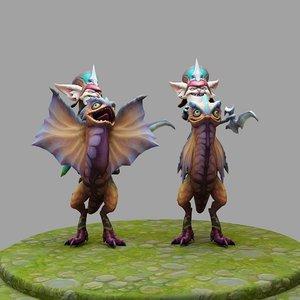 3D league legends model