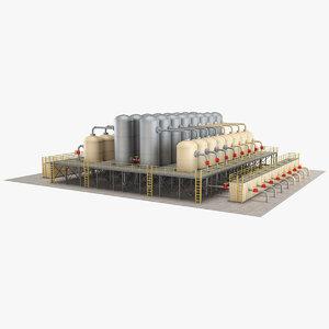industrial element 8 3D model