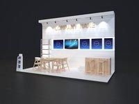 Exhibition Stand 6x3m 011
