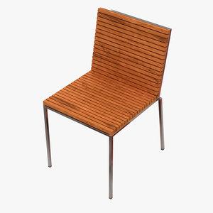 garden home chair 3D model