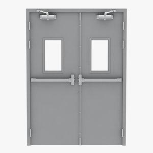 exit door 3D
