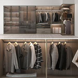 wardrobe molteni c 3D model