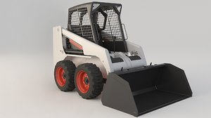 skid steer loaders 1 3D model