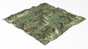 games maps terrain 3D