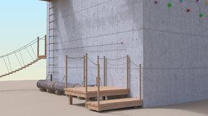 climbing tower 3D model