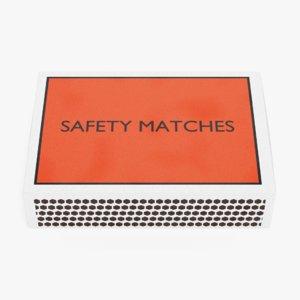 3D model matchbox 2