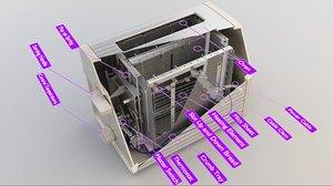 3D toaster 1 model