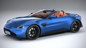 aston martin vantage 3D model