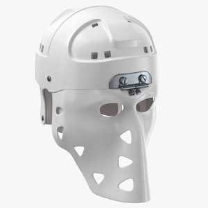 mike liut goalie mask 3D