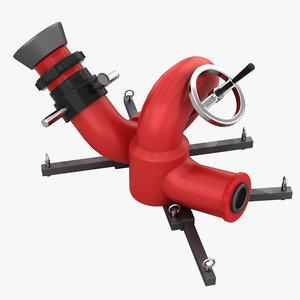 spray stationary 3D