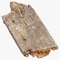 Broken Wood Piece 03